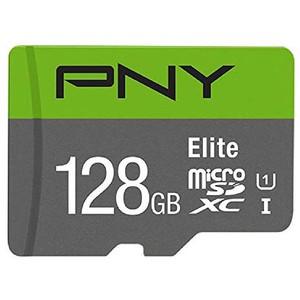 کارت حافظه Micro SD برند PNY مدل Elite ظرفیت 128g