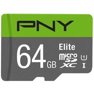 کارت حافظه Micro SD برند PNY مدل Elite ظرفیت 64g