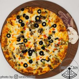 پیتزا بیکن دو نفره