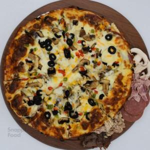 پیتزا چهار فصل فور چیز (دو نفره)