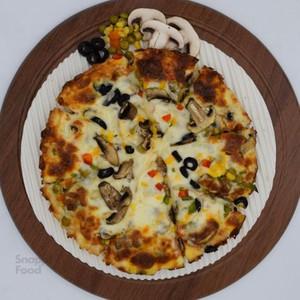 پیتزا سبزیجات یک نفره