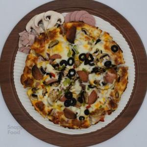 پیتزا مخلوط یک نفره