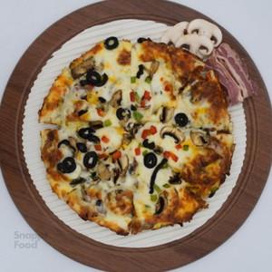 پیتزا بیکن یک نفره