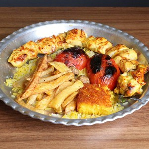 خوراک جوجه کباب سینه300گرمی