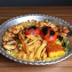 خوراک جوجه کباب ران300گرمی