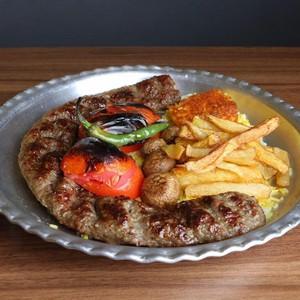 خوراک لقمه زعفرانی 300 گرمی