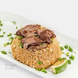 برنج سرخ شده بیف