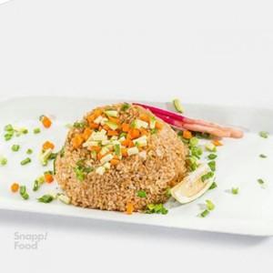 برنج سرخ شده سبزیجات